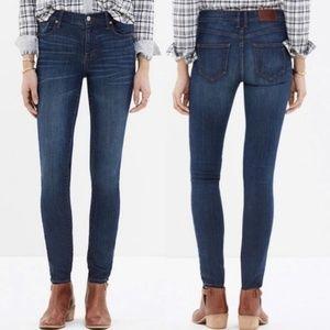 Madewell High Riser Skinny Skinny Jean Atlantic